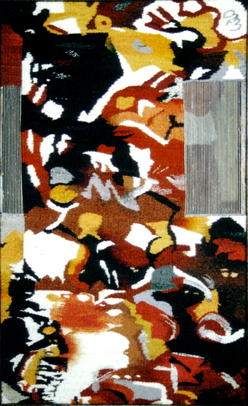 "Wind Wool, Cotton -68"" X 25"" - 2000"